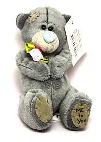 Плюшевий ведмедик Тедді 10 см 0799-16