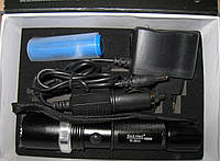 Фонарь Police BL-8615 zoom + аккумулятор+автозарядное, фото 1