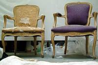 Реставрация антикварной мягкой мебели
