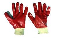 Рабочие перчатки БМС первый сорт (красный)