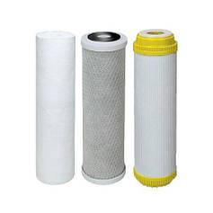 Комплекты картриджей для систем очистки воды