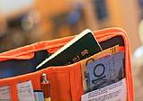 Многофункциональный органайзер для документов и т.д. ( серый, оранжевый, малиновый), фото 6