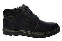 Мужские ботинки Detta, кожа, натуральный мех. Р. 42