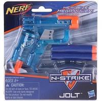 Синий пистолет Нерф Джолт - Jolt, N-Stike, Nerf, Blue, Hasbro
