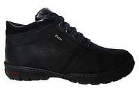 Мужские ботинки Detta, кожа, натуральный мех. Р. 40