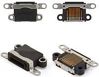 (Коннектор) Aksline Разъем зарядки Apple iPhone 5 / iPhone 5C / iPhone 5S / iPhone SE Black