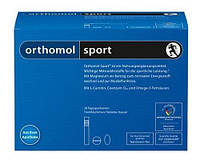 Ортомол Спорт с Омега-3 питьевая бутылочка + капсула + таблетка (30 дней)  Orthomol Sport Omega-3