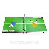 Настольный теннис 90х40 см