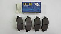 Передние тормозные колодки Kia Rio с 2011-- Hi-Q Sangsin Корея SP1399