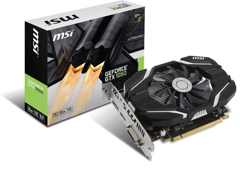 GF GTX 1050 2Gb GDDR5 OC MSI (GeForce GTX 1050 2G OC)