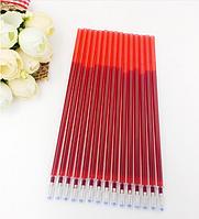 Водорастворимый стержень для вышивки красный
