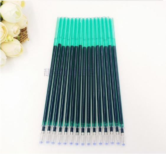 Водорастворимый стержень для вышивки зеленый