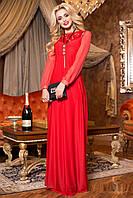 Вечернее длинное платье в пол 746 ( 42–48р) в расцветках, фото 1