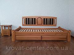 """Кровать без изголовья """"Афина Премиум"""". Массив - сосна, ольха, береза, дуб., фото 2"""
