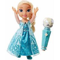 Поющая кукла Эльза с микрофоном Дисней