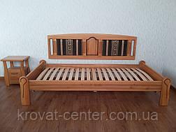 """Кровать без изголовья """"Афина Премиум"""". Массив - сосна, ольха, береза, дуб., фото 3"""