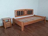 """Кровать без изголовья """"Афина Премиум"""". Массив - сосна, ольха, береза, дуб."""