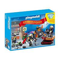 Конструктор Playmobil 5495 Адвент-календарь Пожарники, фото 1