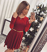 Платье короткое БАРХАТ