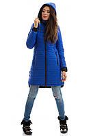 Куртка зимняя Герда синий