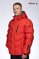 Куртка мужская пуховик Avecs AV-920 Orange 9# Авекс Размеры 46 48 52 54 56