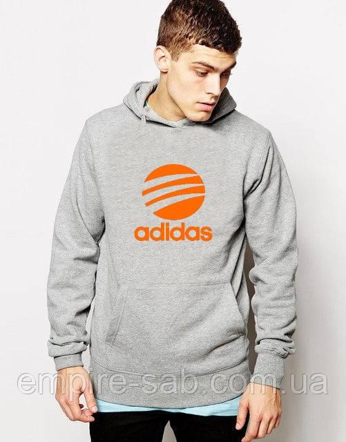 Толстовка c капюшоном  Adidas (кенгуру)
