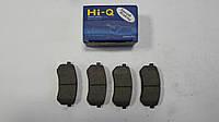 Задние тормозные колодки Kia Picanto 2007-2011 Hi-Q Sangsin Корея SP1189