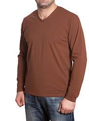 Кофта мужская с V-образным вырезом горловины. Разные цвета