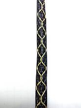 Бейка из кожзама с вышивкой для пошива дубленок