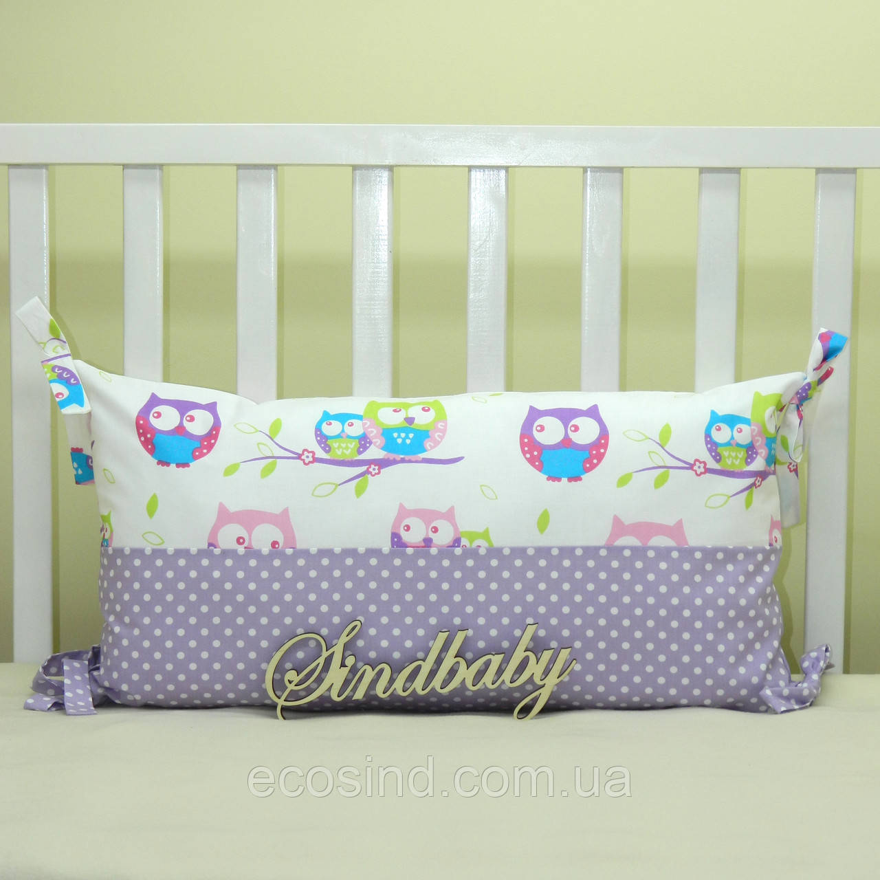 Бортики подушки в кроватку, Подушка - 01