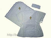 """Набор для крещения девочки  """"Крестница"""" (миткаль, шитье) Р.56-68"""