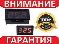ВОЛЬТМЕТР ЦИФРОВОЙ AC 60-500В  с защелками V3.0 220 КРАСНЫЙ, фото 1