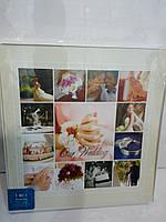 Фотоальбом 642 Наша свадьба 12 магнитных листов+8 обычных с описанием.