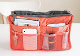 Bag in Bag - органайзер в сумку (коричневый), фото 7