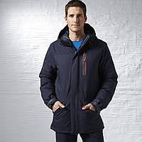 8225b9d810a Купить Мужская куртка Reebok Long Down (Артикул  Z92948) в интернет ...