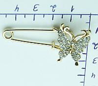 Бабочки булавочки, маленькие женские украшения для одежды. 502