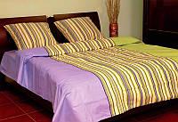 Комплект постельного белья с европростыней