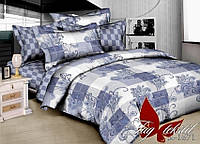 Двуспальный комплект постельного белья (ранфорс) R1671 TM TAG