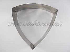 Нержавеющая форма треугольник 20*20*20, h 6 см