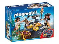 Конструктор Playmobil 6683 Пиратский тайник с сокровищами, фото 1