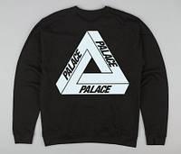 Свитшот чёрный   с принтом Palace Logo Кофта