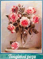 """Картина по номерам """"Трепетные розы"""""""