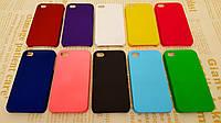 Чехол накладка бампер для iPhone 4 / 4S (10 цветов)