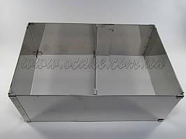 Форма раздвижная для выпечки, высота 5 см