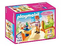 Конструктор Playmobil 5304 Детская комната с люлькой, фото 1