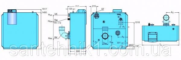Газовый конденсационный котел Buderus Logano plus GB312, фото 2