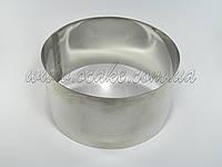 Нержавеющая форма для выпекания, h-10 см; Ø 10 см
