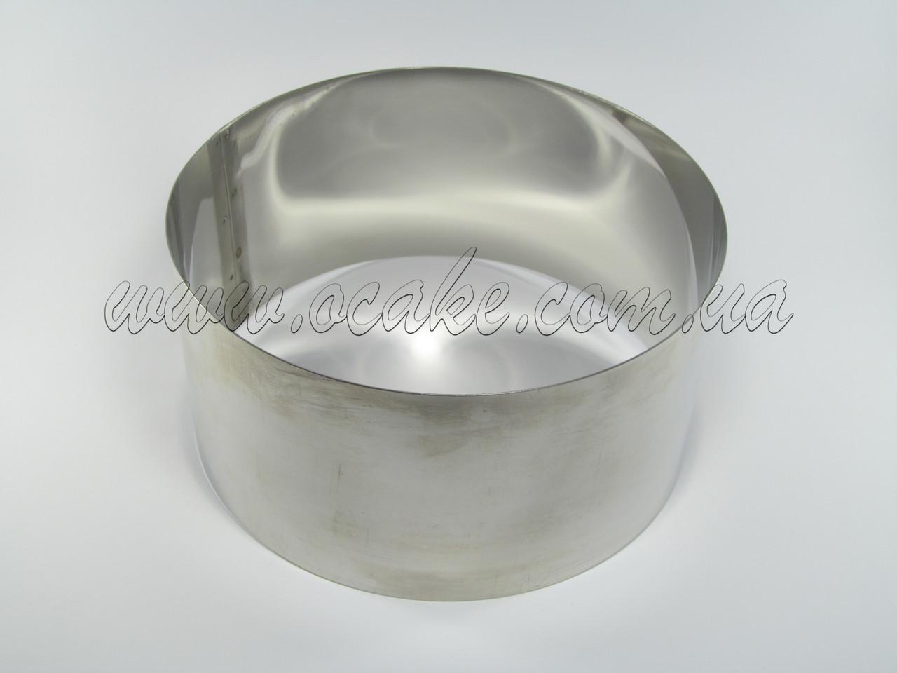 Нержавеющая форма для выпекания, h-10, Ø 12 см