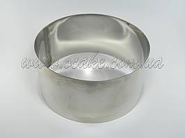 Нержавеющая форма для выпекания, h-10, Ø 34 см