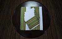 Набор столовый зеленый   Набір столовий зелений 120х140